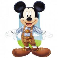 Balon folie figurina Mickey Mouse Lederhosen - 95cm, Amscan 27389