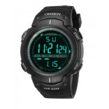 Ceas  Sport/Militar,Rezistent Apa 5 ATM,Alarma,Cronometru,Background Iluminat