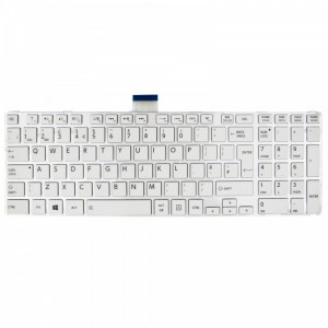 Tastatura Laptop Toshiba Satellite L855 UK alba