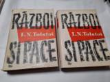 RAZBOI SI PACE - L. N. Tolstoi - 2 vol., 1959  EDITIE CARTONATA  RF22/1