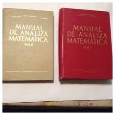 miron niculescu manual de analiza matematica