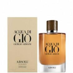 Apa de parfum Giorgio Armani Acqua di Gio Absolu, 125 ml, pentru barbati
