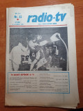 Revista tele-radio 6-12 aprilie 1980