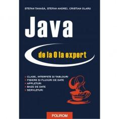 Java de la 0 la expert - StefanTanasa, CristianOlaru, StefanAndrei