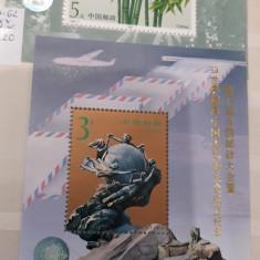 Clasor cu 8 colite si 85 timbre MNH - CHINA