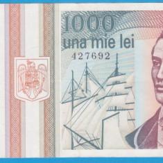 (1) BANCNOTA ROMANIA - 1.000 LEI 1993 (MAI 1993), PORTRET MIHAI EMINESCU