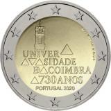 NOU - Portugalia moneda comemorativa 2 euro 2020 - Universitatea Coimbra - UNC