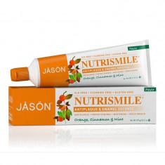 Pasta de dinti Nutrismile pentru prevenirea tartrului si cariilor, Jason