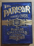 Carti de joc The Parlour Blue playing cards