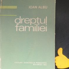 Dreptul familiei Ioan Albu