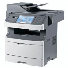Multifunctionala Laser Monocrom Lexmark x466de, Duplex, A4, 38ppm, 1200 x 1200, Fax, Copiator, Scanner,USB, Retea
