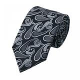 Cumpara ieftin Model 11 - cravata matase 100% + cutie cadou