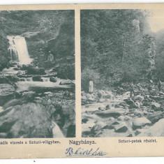 4731 - BAIA-MARE, Waterfall, Romania - old postcard - used - 1911, Circulata, Printata