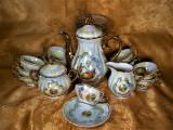 Set ceai cafea portelan Fragonard colectie cadou vintage