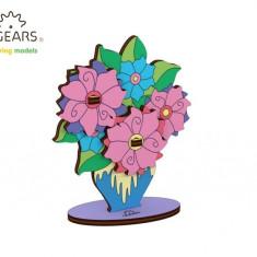 Puzzle din lemn Buchet de flori