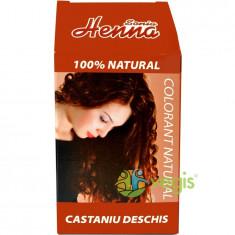 Vopsea Par Henna Castaniu Deschis 100gr