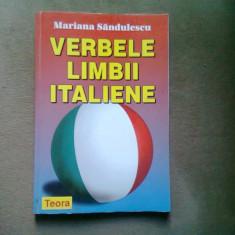 VERBELE LIMBII ITALIENE - MARIANA SANDULESCU
