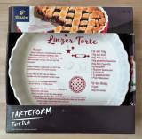 Tava / Forma portelan - pentru cuptor - Tartă / Tort - Linzer - Nouă!