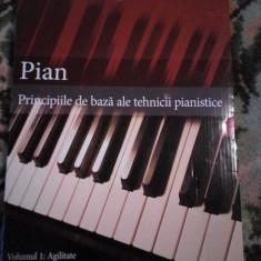 Principiile de baza ale tehnicii pianistice