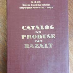 Catalog de produse din bazalt Intreprinderea de Lianti Brasov  / C45P
