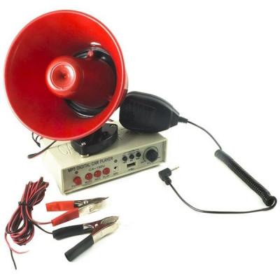 Portavoce megafon Auto 12V cu port USB si inregistrare CA-150U foto