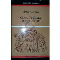 ARTUR GOROVEI - CIMILITURILE ROMANILOR, 1972