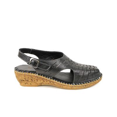 Sandale dama EVIDA Negre foto