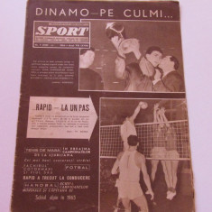 Revista SPORT-nr.7/03.1965 (RAPID Bucuresti)
