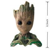 Figurina BABY GROOT 4 modele (Suport pixuri/Ghiveci Flori/Licheni)