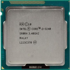 Procesor Desktop PC Intel Core i3-3240 3.40GHz SR0RH Socket LGA 1155 CPU i3, 2