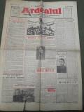 Ziarul Ardealul 23 aprilie 1945 regele Mihai front razboi mondial