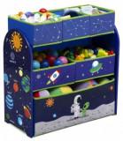 Organizator jucarii Copii Fun cu cadru din lemn Astronaut