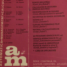 LXXC1 Automatica management calculatoare nr 55- Editura tehnica