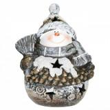 Candela Craciun ceramica Om Zapada 21 cm x 14 cm Elegant DecoLux