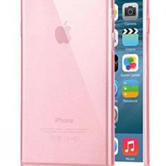 Husa Telefon Silicon Apple iPhone 6+ 6s+ Clear Pink Ultra Thin