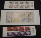 Lot de trei carnete cu timbre Norvegia -  MNH - 1995