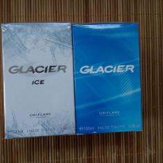 SET 2 GLACIER, blue si ice, apa de toaleta, 100 ml, noi, sigilate