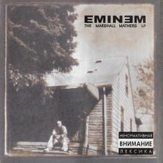 Caseta Eminem – The Marshall Mathers LP, originala