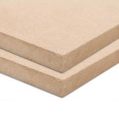 Plăci MDF, 2 buc., 120 x 60 cm, dreptunghiular, 12 mm
