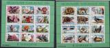 Romania 1987 European flora and fauna, 2 perf. sheetlet, MNH S.141
