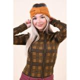 Canadiana Only Karen Cable Knit Golden Oak, Portocaliu