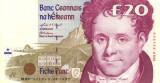 Bancnota din IRLANDA - 20 pounds 1999 - Stare f. buna.