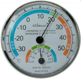 Termometru si higrometru analogic, 7H101B - 110976