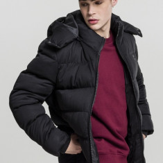 Hooded Boxy Puffer Jacket