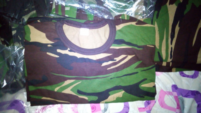 Tricou armata camuflaj nou