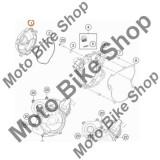 MBS Capac exterior ambreiaj KTM 65 SX 2019 #1, Cod Produs: 4623002600015KT