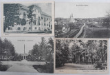 4 CARTI POSTALE (AUSTRO-UNGARIA SI INTERBELIC)  - BUZIAS, Ambele, Romania 1900 - 1950