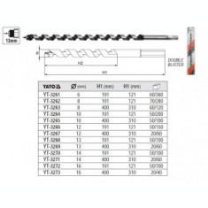 Burghiu elicoidal pentru lemn 10mm, Yato YT-3264