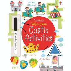 Wipe-clean castle activities - Carte Usborne 3+