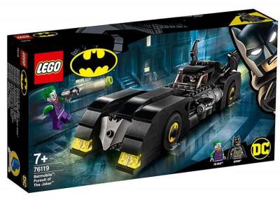 LEGO DC Super Heroes - Batmobile: Urmarirea lui Joker 76119 foto